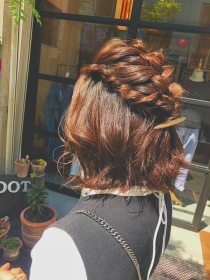 hair&spaROOT所属のくもんはるかのヘアカタログ