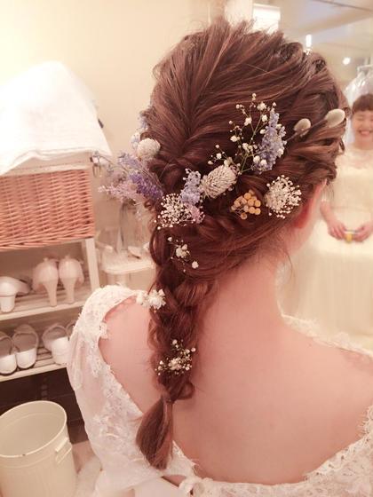 【#アオハル】🌟結婚式や二次会向け💐ゆるふわヘアセット🌟
