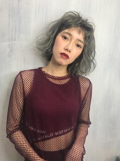 熊谷七海のショートのヘアスタイル