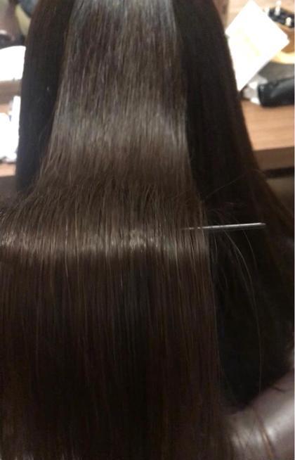 💎うるさら💎髪質改善カット+低アルカリストレート(トリートメント付)