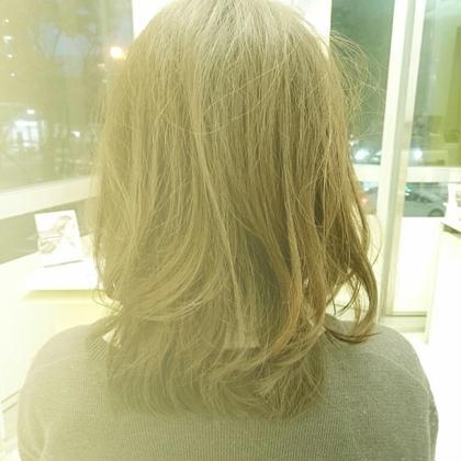 アイロンでワンコールするだけでフワフワパーマみたいな髪が簡単につくれます(*^^*)  フワフワ女子になれます(^-^) アトリエファム五日市店所属・吉川侑希のスタイル