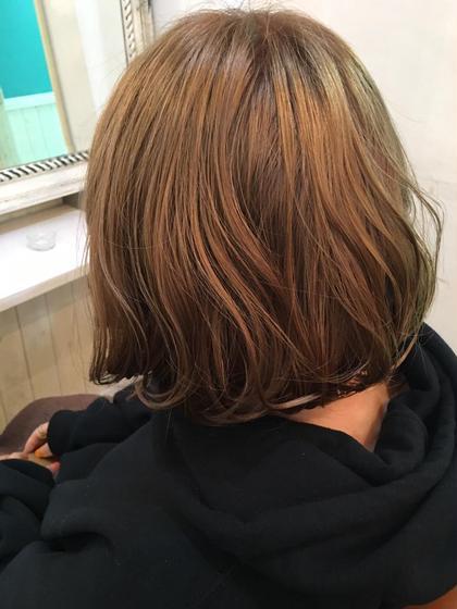Wカラー☆ 少しピンクが入ったベージュです! orange所属・藤巻奈保子のスタイル