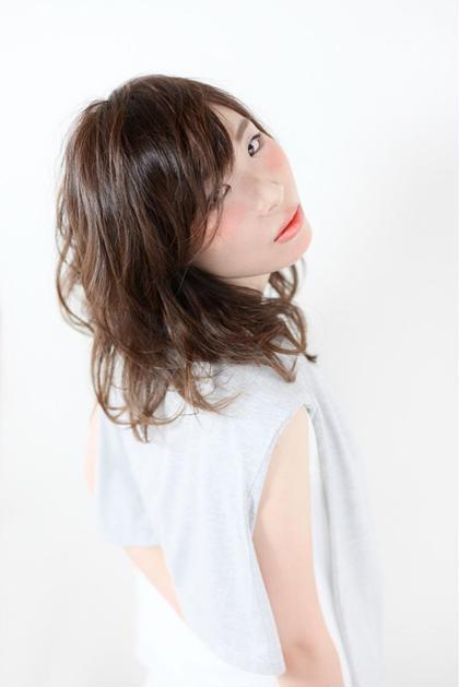 hair make age 新田店所属・佐藤啓史のスタイル