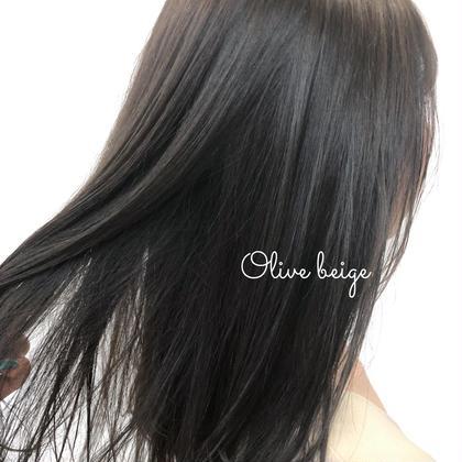メンテナンスカット+カラー+髪質改善トリートメント