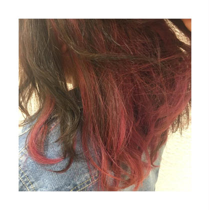 innercolor ✖︎ pink KENJE平塚LUSCA所属・柏山理央菜のスタイル