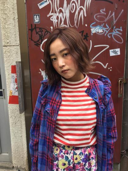 (旧dejave  hair&space)ルシードスタイルグローバルD所属・龍崎絵里香のスタイル