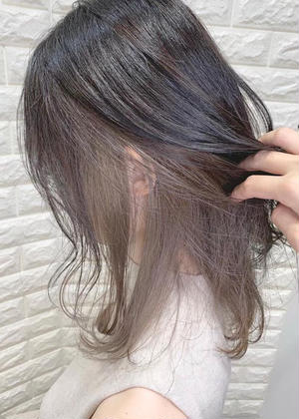 🌈‼️最新トレンド‼️🌈インナーカラーor裾カラー(全頭カラー含む)+集中補修トリートメント🌈