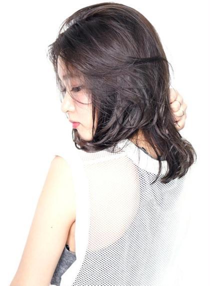 【驚異の毛髪修復率!】痛まないけど透明感!ファイバープレックスカラー(全体フルカラー) & 水飴シルクトリートメント