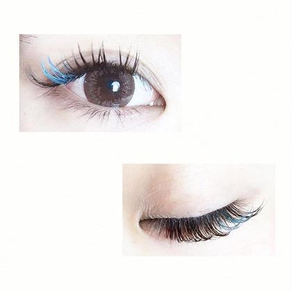 カラーエクステ付け放題*ブルー efil eyelash所属・efilakaneのフォト