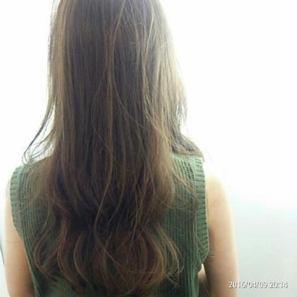 アッシュカラー✨ gram hair所属・森由梨絵のスタイル