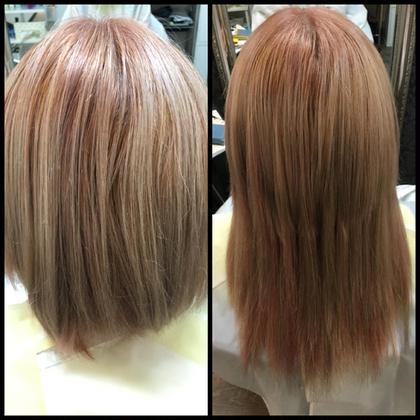 ✳︎エクステ50本 Hair Grande Seeek所属・佐藤真由のスタイル