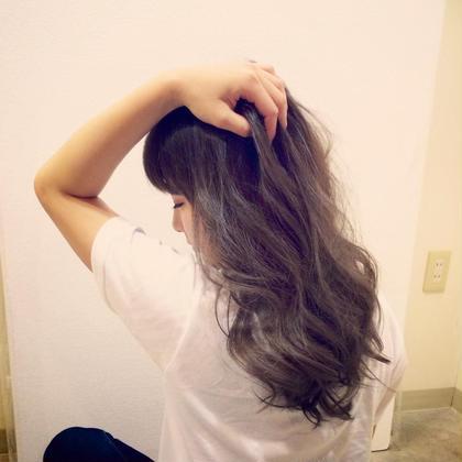 アッシュグレー gram hair(グラムヘア)所属・野村寛之のスタイル