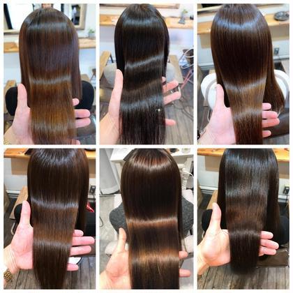 学割✂︎【髪質改善ヘアエステ&アイロンを使わない縮毛矯正】
