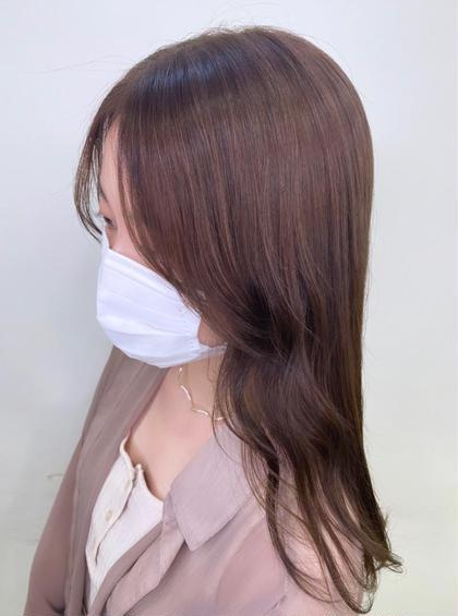 🍒イルミナカラー+トリートメント➪【透明感ある髪 カラーによる髪ダメージ97%減少 】
