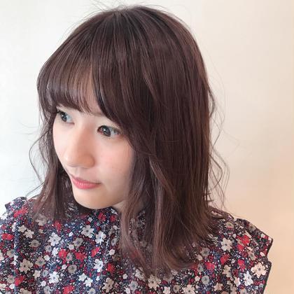 purple pink カラー🦄  秋先取りで、つやつや◯◯   CLAPS上永谷店所属・平戸シオリのスタイル
