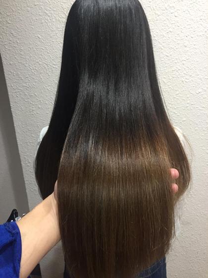【最高の艶髪へ✨】カット & ネオリシオ縮毛矯正 & 最高級oggi ottoトリートメント