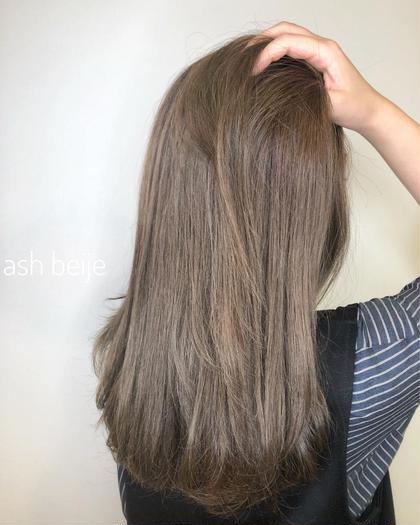 髪質改善!イルミナカラー💜