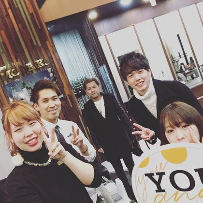 オーディション頑張ってね^_^  いつもありがとう^o^ Hair&make MODE K's 松原店所属・永井勇樹のスタイル