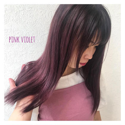 カラー ピンクバイオレット!