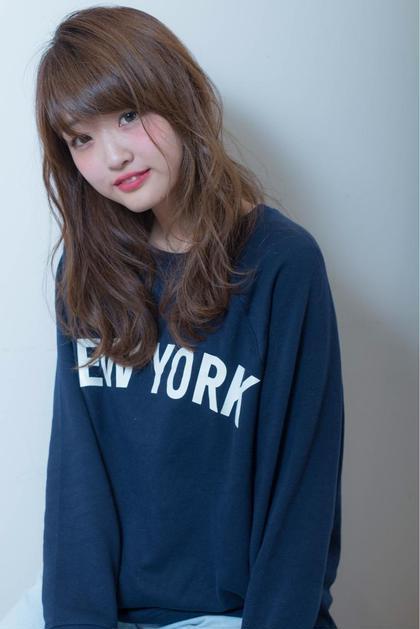 ナチュラルカラー ゆるふわパーマ Ash  本八幡店所属・狩野麻衣子のスタイル