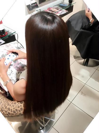 カット & ✨髪質改善縮毛矯正✨ & トリートメント✨