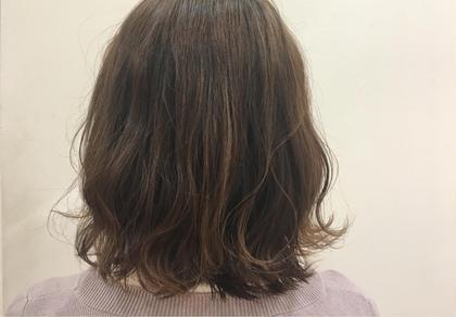 Garden hair所属・渡邉凪夏のスタイル