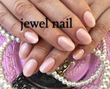 シンプルワンカラー♡ オフィス向けピンク、ベージュ多数ございます! pink sugar nail前橋(旧jewel nail)所属・pink sugarnailのフォト