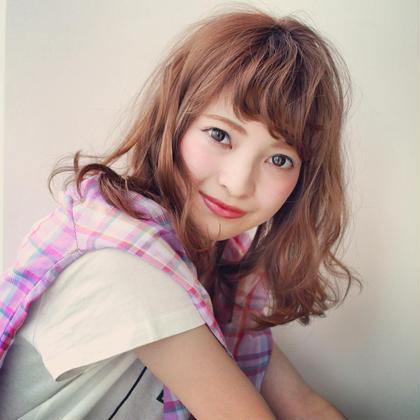 ラフでカジュアルなミディアムスタイル♡   ZEST bis所属・中下美香のスタイル