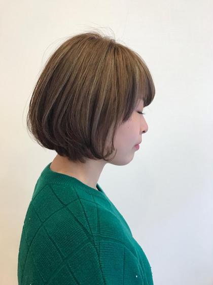 ハイライトとロウライト☺︎ 素敵なカラーになりました U Hair三軒茶屋所属・眞田裕里のスタイル