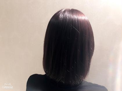 艶々のカラーリングです! hair & makeEARTH平塚所属・大畑あかりのスタイル