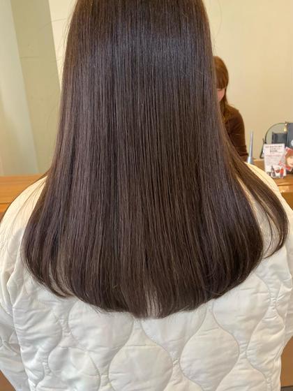 新規【美髪💗】カット+透明感カラー+Aujuaトリートメント💗当日予約OK◎