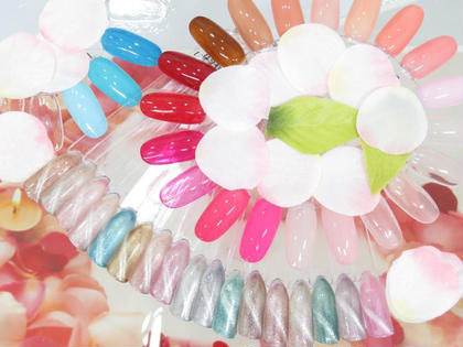 【オフなし】ハンド♡ワンカラーちゅるんネイル♡2色選べます♡