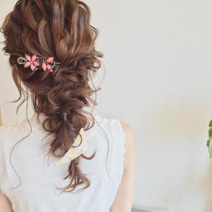 ゴトウノブヒトのヘアアレンジ