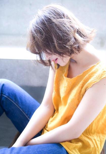 [🌈人気No.1]cut & (ダメージ4/1*イルミナ)×(発色抜群*アディクシー)mixカラー🌈トリートメント*