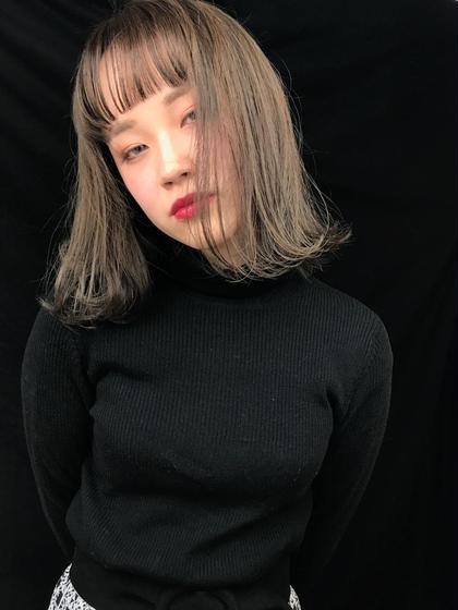 【限定クーポン】カット&フルカラー&トリートメント!