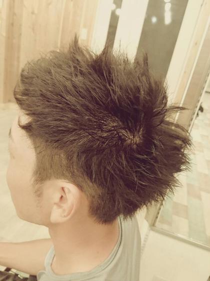 メンズカラー&今はやりのジェルスタイリング Hair garden Rold所属・井上野乃花のスタイル