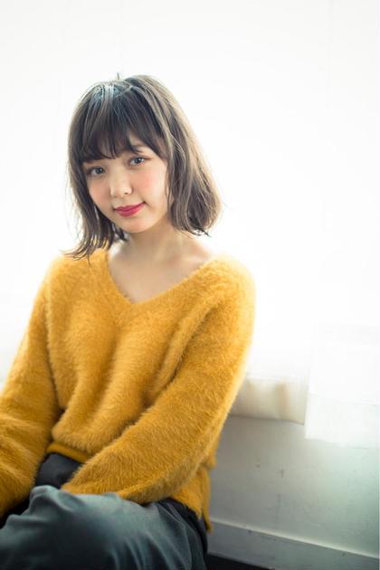 【平日限定】似合わせカット+ケアカラー【低ダメージ】+3STEPトリートメント