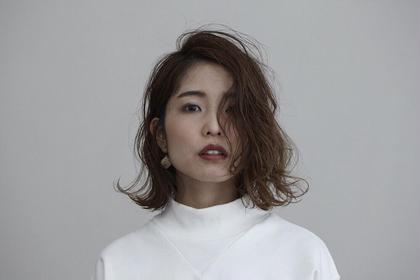 アンニュイボブ hair design girl所属・芹澤隆信のスタイル