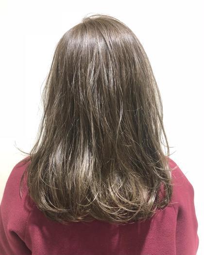 ダメージレスカラー🌟色持ち最高🥰髪質改善N.ケアカラー+集中補修トリートメント✨イルミナカラーにも負けません😚