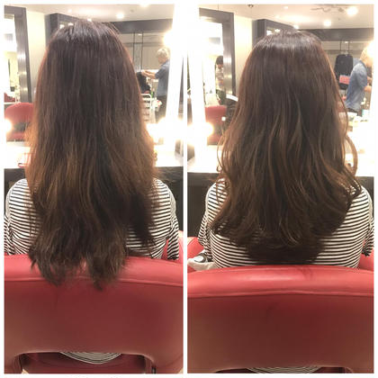 ロング Before→after