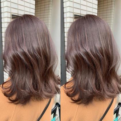 イルミナカラー/アディクシーカラー+トリートメント+前髪カット