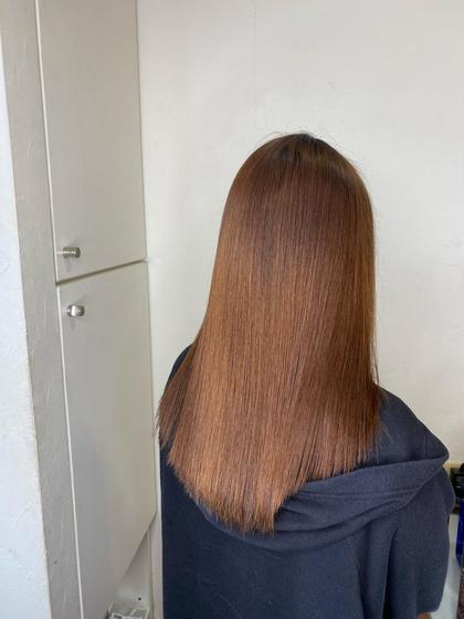 髪質改善サイエンスアクア+カラー✨