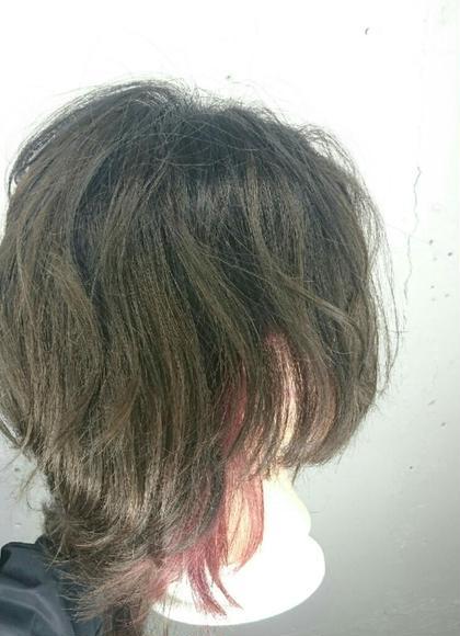【✨新規様限定✨】ポイントカラー(ケアブリーチ)&毛髪補修トリートメント