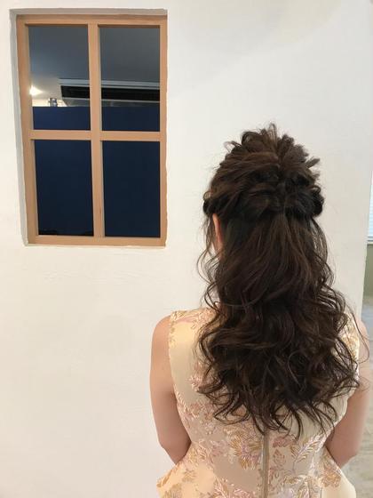 ゆるかわハーフアップ♪ hair'sRooM所属・土井佑起のスタイル