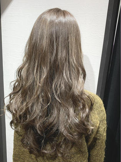 ❤️外国人風イルミナorアディクシーカラーfull &2stepトリートメント☆