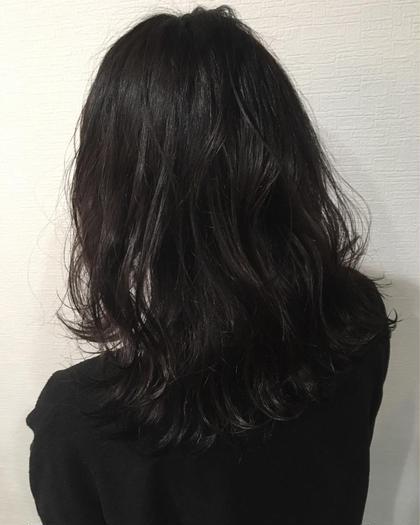 5cmカット波巻きでシアバターでセミウェットで今っぽく仕上げてみました♪ hairlabshiro所属・吉原勇気のスタイル