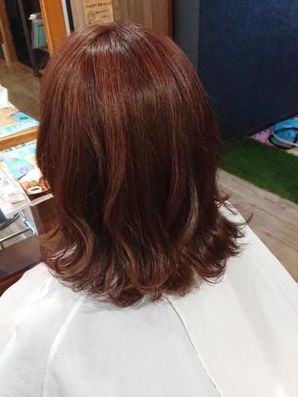 ピンクブラウンも人気です😏 hair&spa CHEEGO所属・倉橋渉のスタイル
