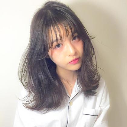 ⭐️4月限定☆髪再生イルミナカラーorアディクシーカラー&cut&3stepTr🎵