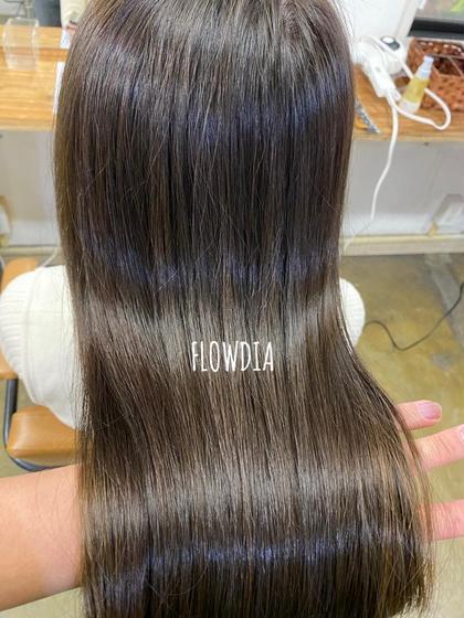 💗髪質改善&FLOWDIAでうる艶質感叶えます💗カット+髪質改善ダイナプレックス+FLOWDIAトリートメント