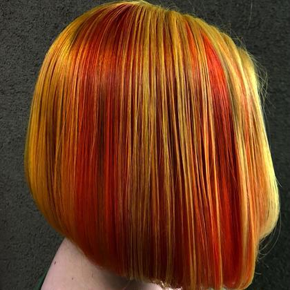 その他 カラー キッズ ネイル パーマ ヘアアレンジ マツエク・マツパ ミディアム メンズ 2色です‼️